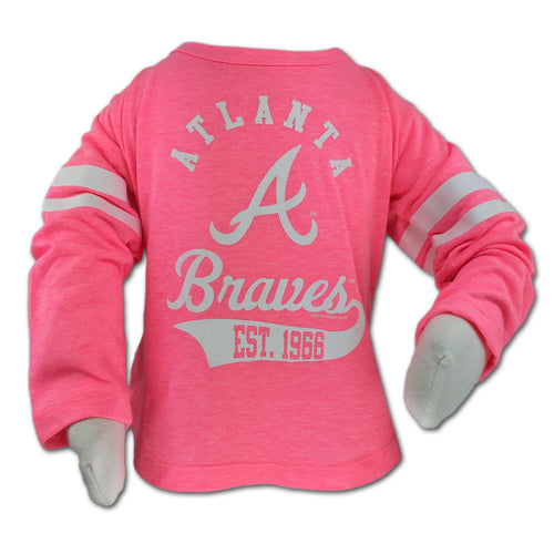 Braves Pink Kid's Classic Tee