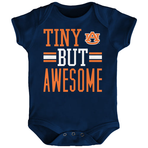 Tiny But Awesome Auburn Onesie