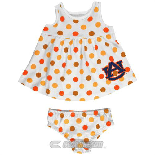 Auburn Baby Dotty Sundress with Bloomers