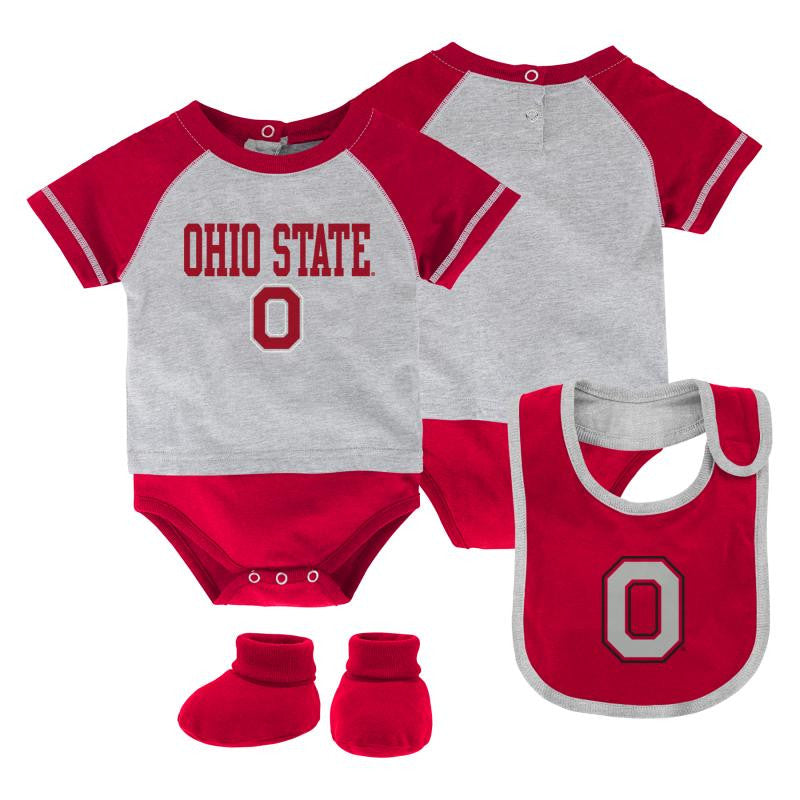 Baby Ohio State 3PC Outfit