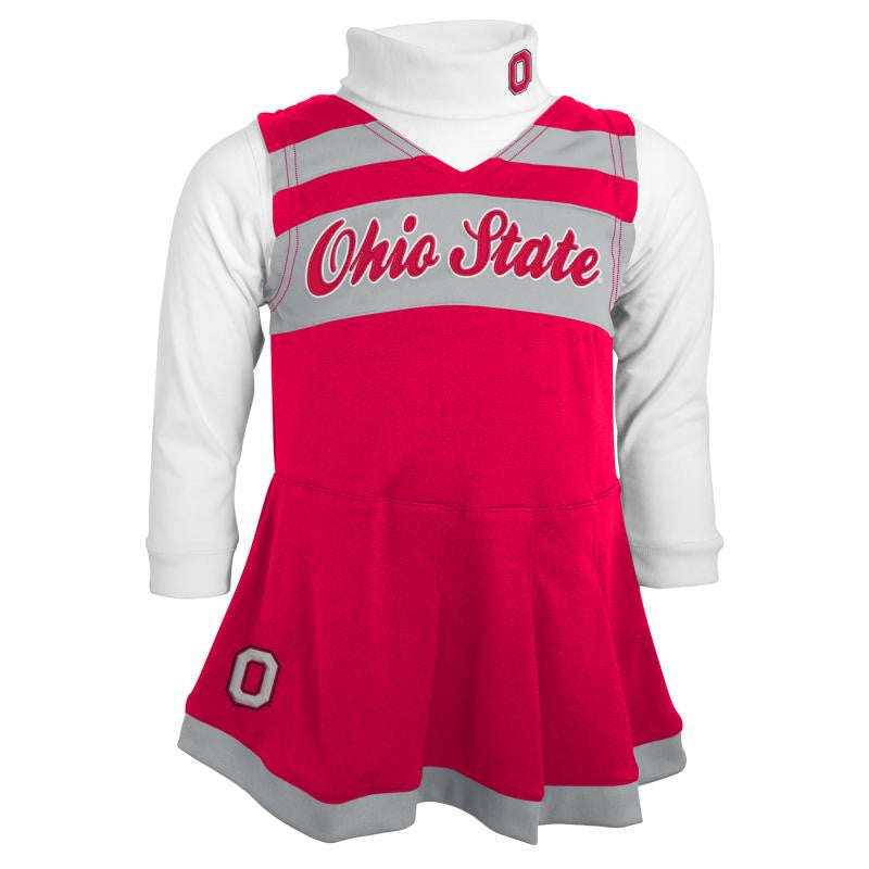Ohio State Kids Cheerleader Outfit