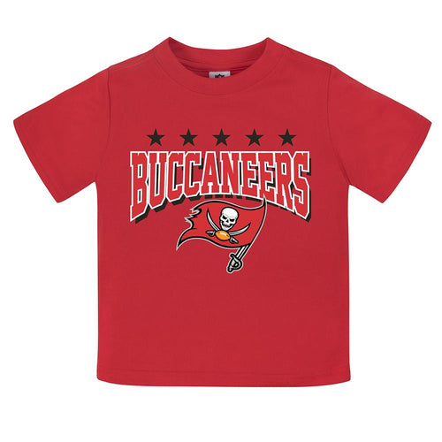 Buccaneers Toddler Boy Short Sleeve Tee