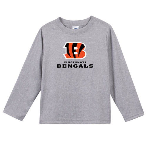 Cincinnati Bengals Boys Long Sleeve Tee