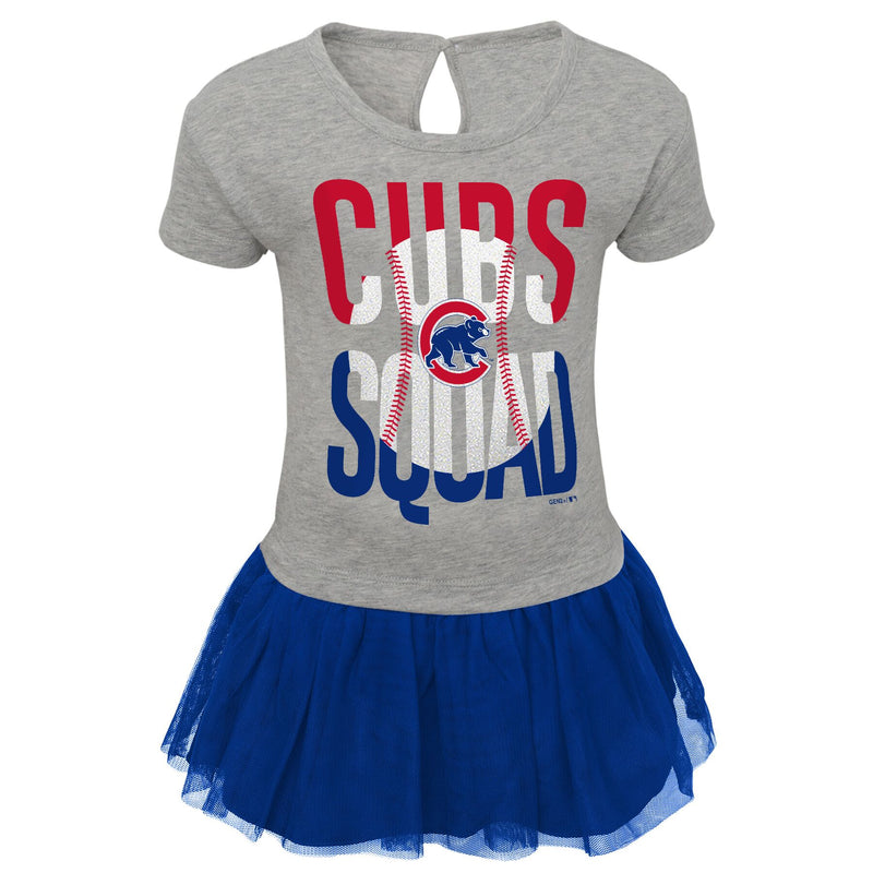 Cubs Toddler Girl Cheer Squad Dress