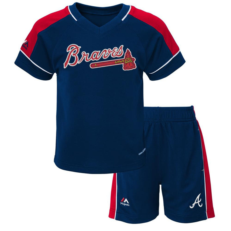 Braves Baby Classic Shirt and Short Set