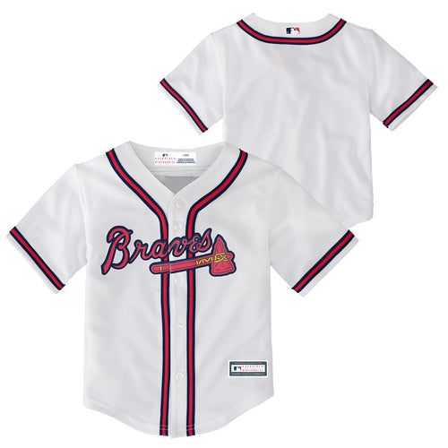 Braves Kid's Team Jersey (Size 2T-4T)