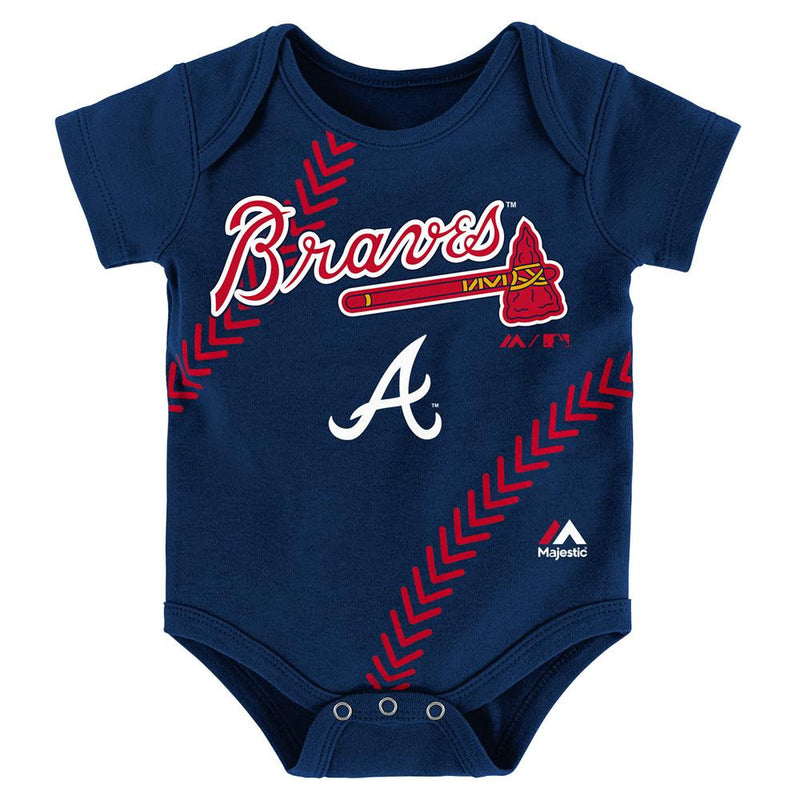 Braves Baby Home Run Creeper