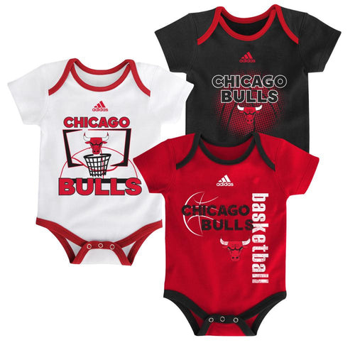 Bulls Infant 3 Point Bodysuit Set