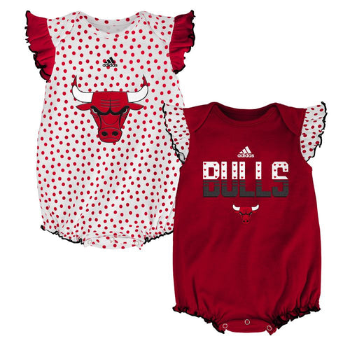 Bulls Baby Girl Dotty Duo