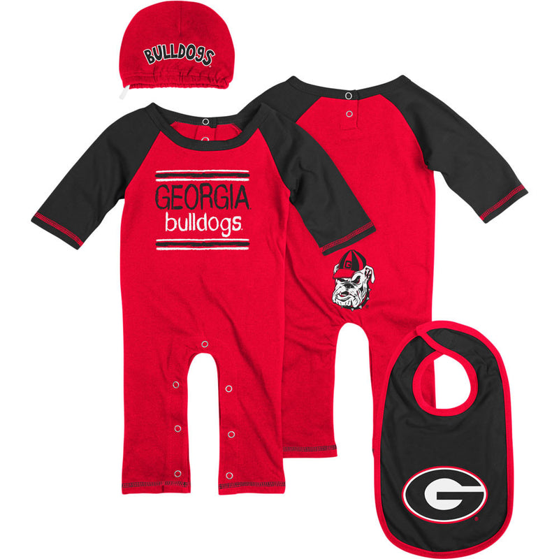 Georgia Team Colors Coverall Set