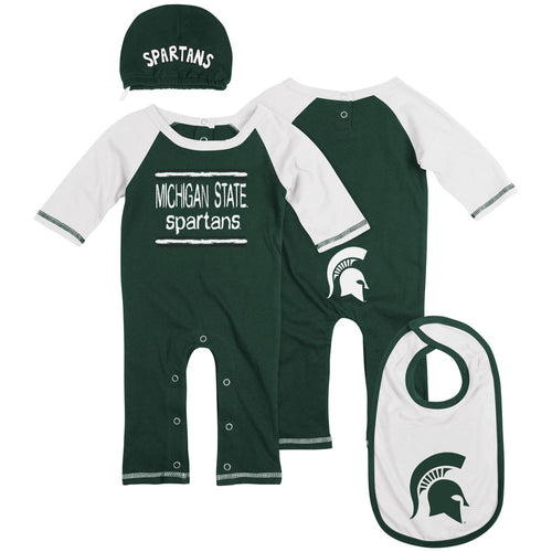 Michigan State Team Colors Coverall Set