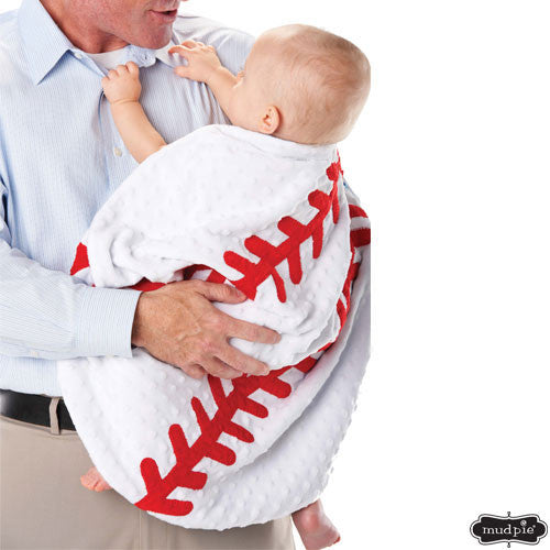 Baseball Infant Blanket