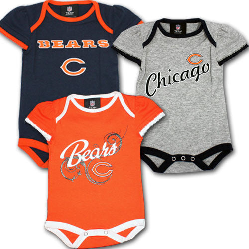 Bears Infant Girl Body Suits