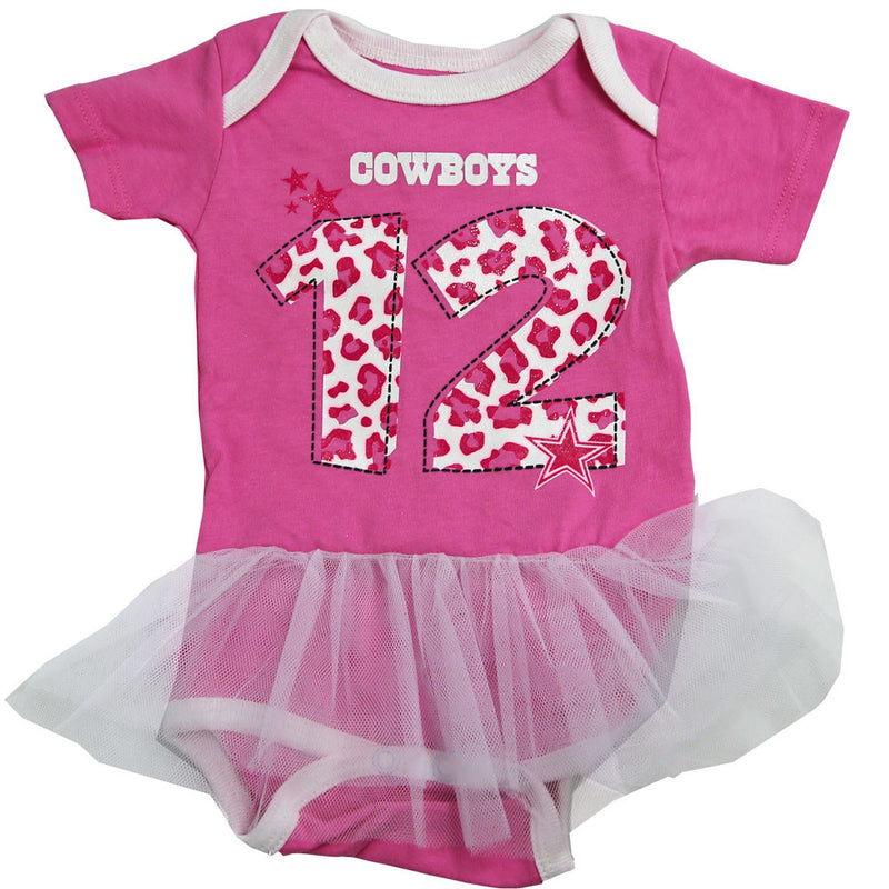 Dallas Cowboys Pink Tutu Bodysuit