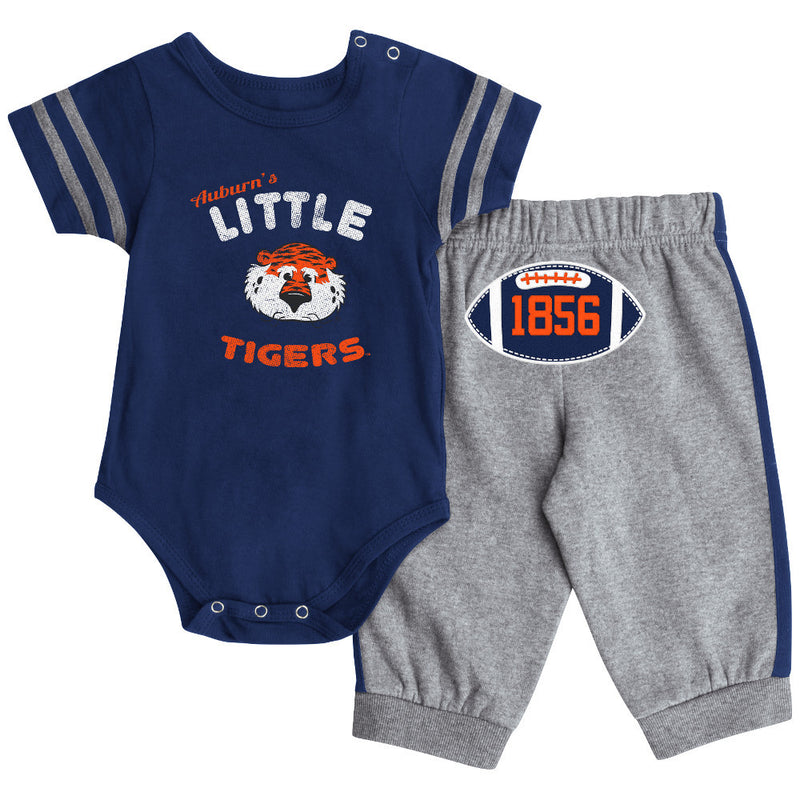 Auburn Short Sleeve Creeper & Pants Set