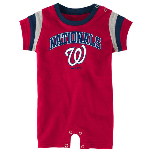 Nationals Baseball Baby Romper