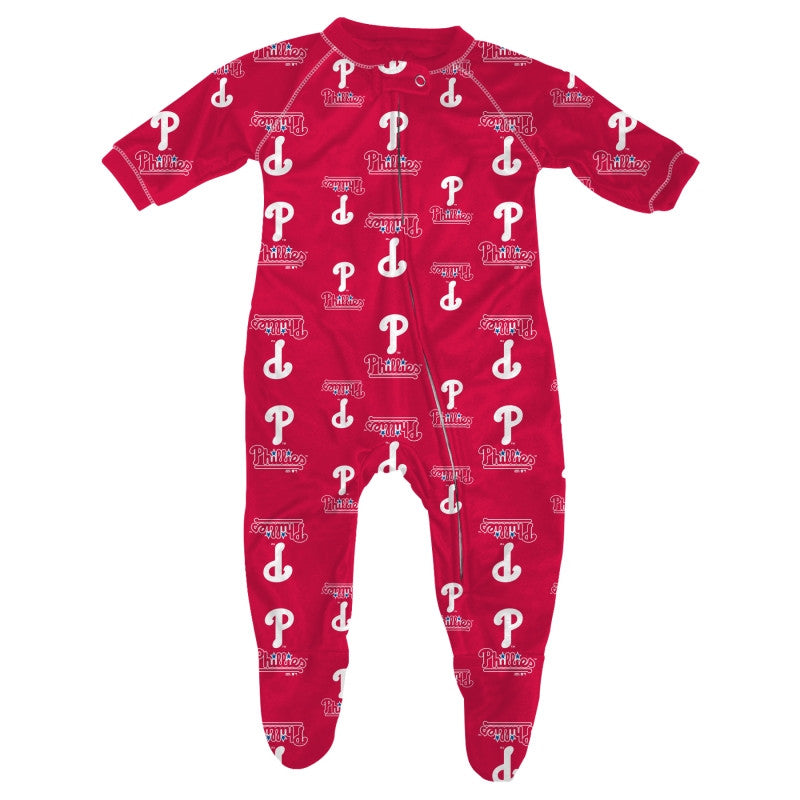 Baby Philadelphia Phillies Logo Pajamas