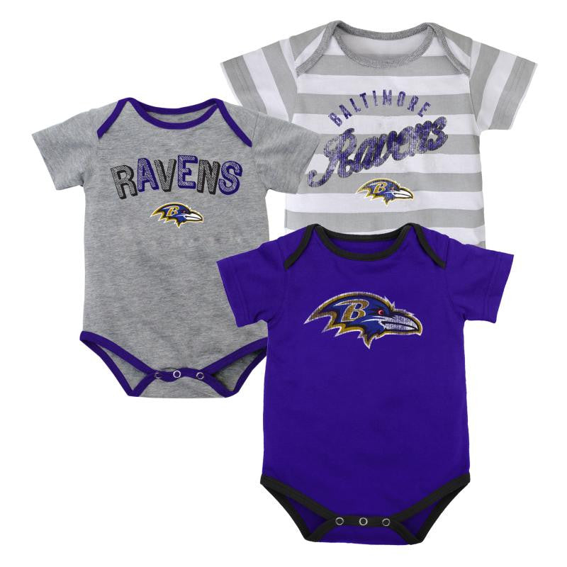 Baby Ravens Outfits (3-Pack)