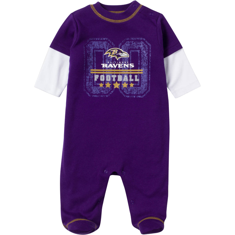 Baby Ravens Fan Sleep & Play