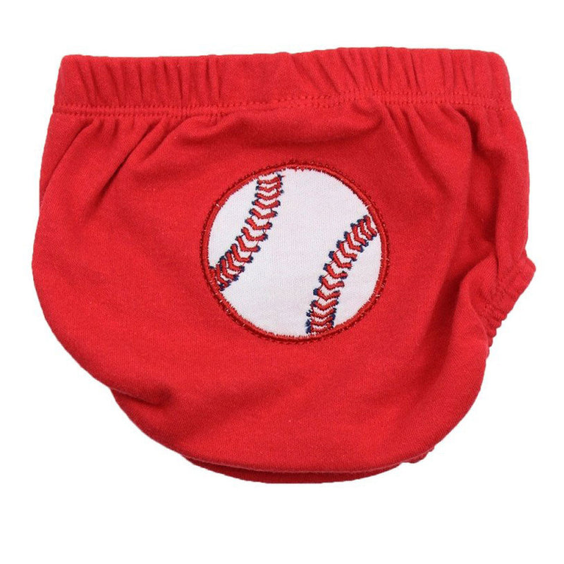 Baby Baseball Diaper Cover