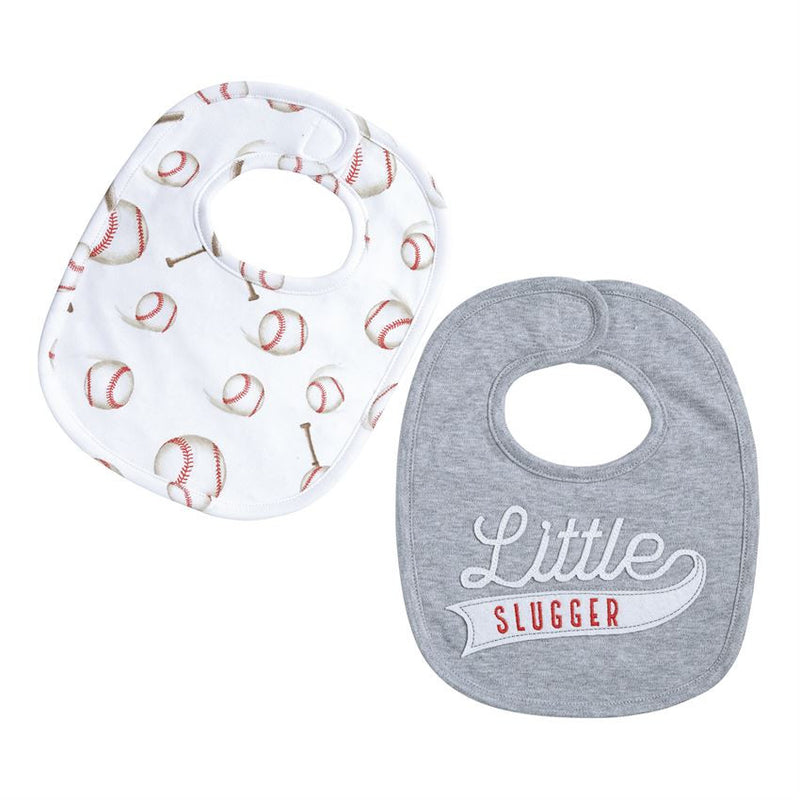 Infant Baseball Bib Set