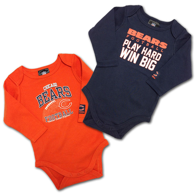 "Bears Baby ""Win Big"" Bodysuit 2-Pack"