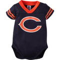Baby Bears Football Jersey Onesie