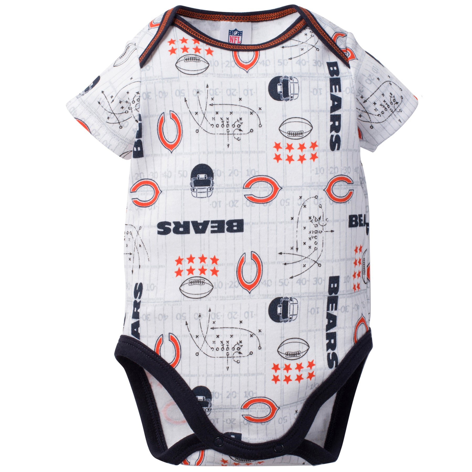 Bears Baby 3 Pack Short Sleeve Onesies - babyfans