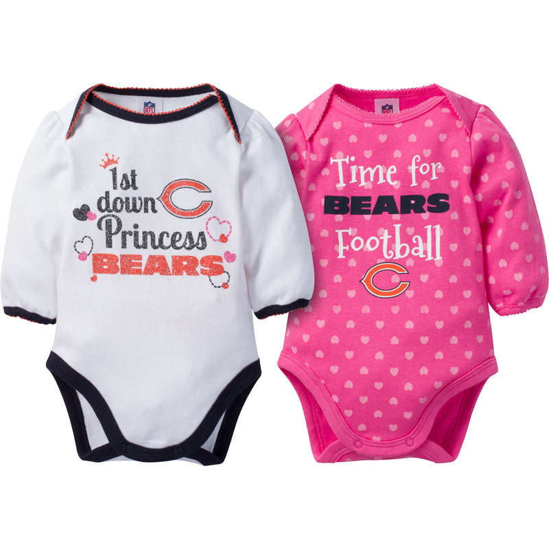 Bears Baby Princess Bodysuit Set