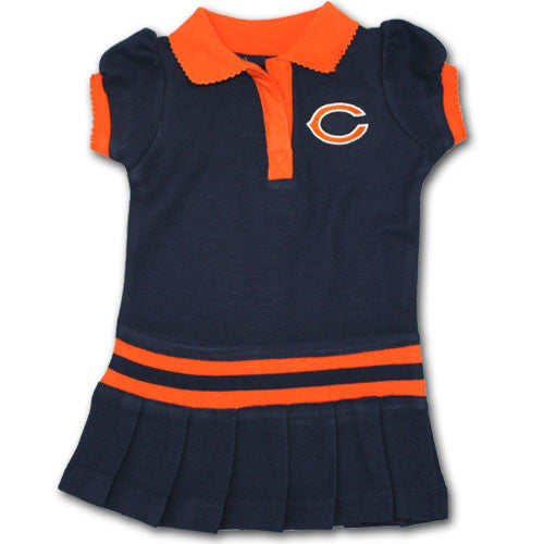 Chicago Bears Infant / Toddler Polo Dress
