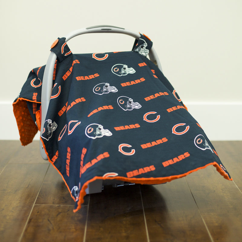 Chicago Bears Car Seat Canopy