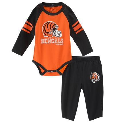 Bengals Long Sleeve Bodysuit and Pants