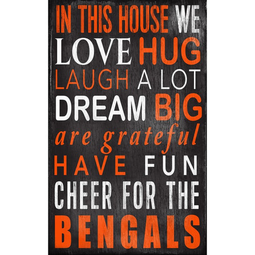 Bengals Baby Nursery Wall Art