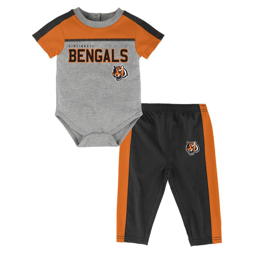 Bengals Fan Playtime Creeper & Pants Outfit