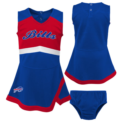 Buffalo Bills Infant Cheerleader Dress