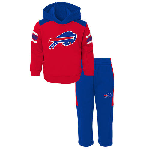 Bills Infant Hooded Fleece Lined Set