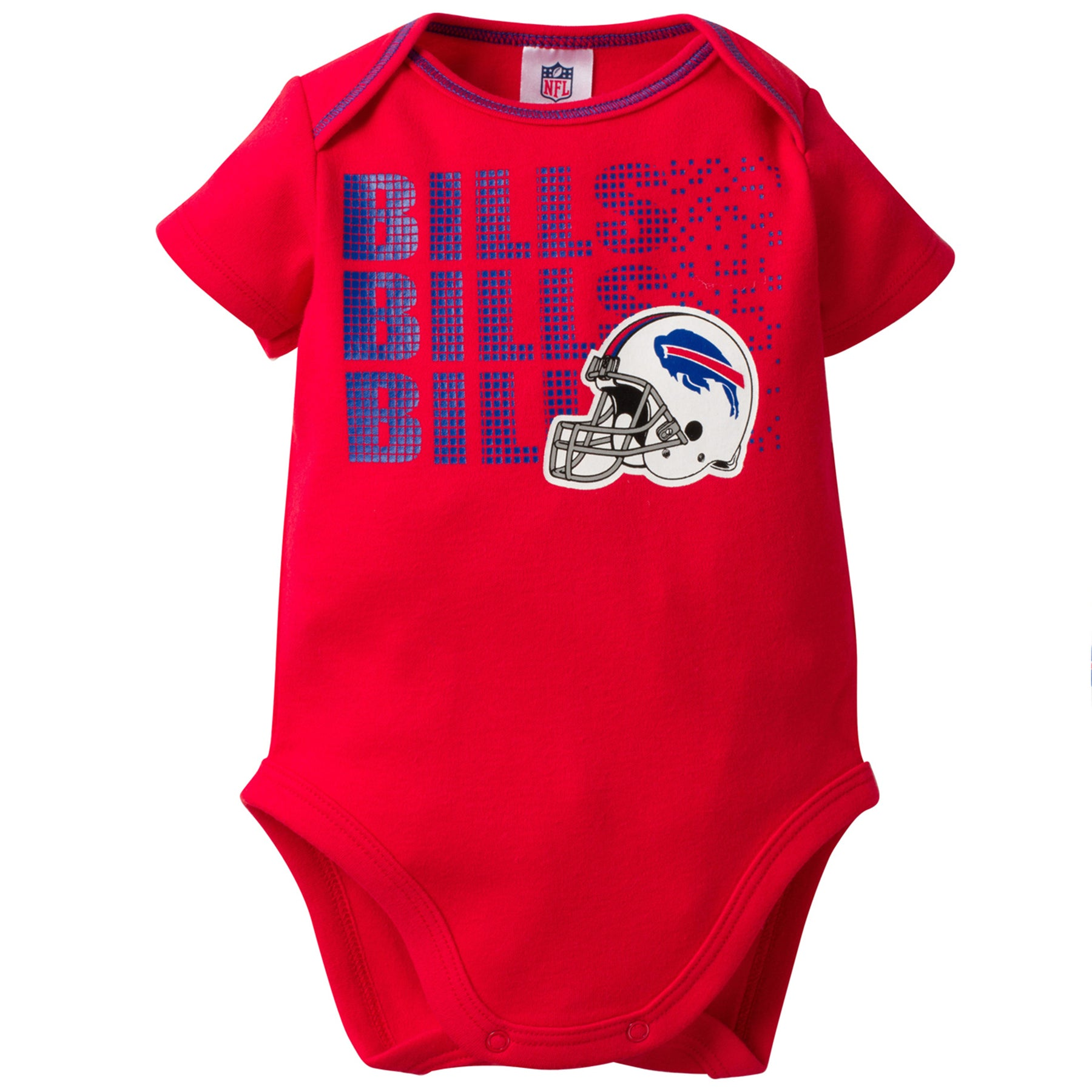 Bills Baby 3 Pack Short Sleeve Onesies - babyfans