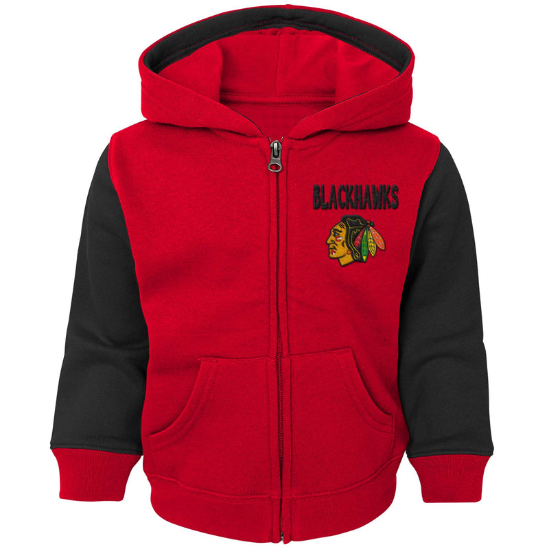 Blackhawks Zip Up Hooded Jacket