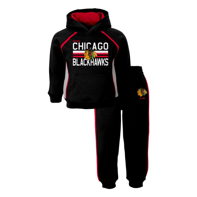 Blackhawks Fan Infant/Toddler Sweatshirt Fleece Set