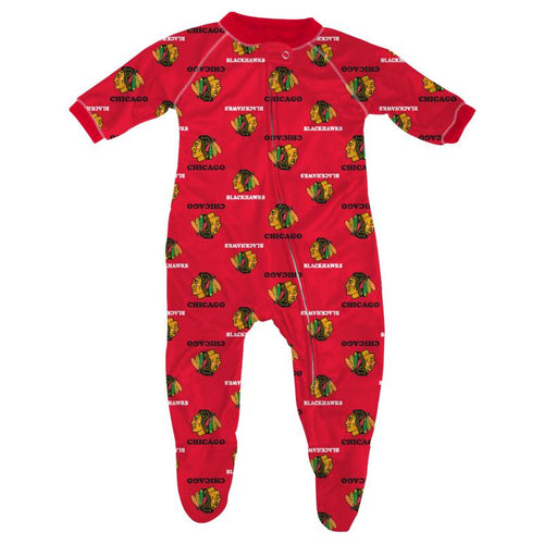 Blackhawks Infant Pajamas