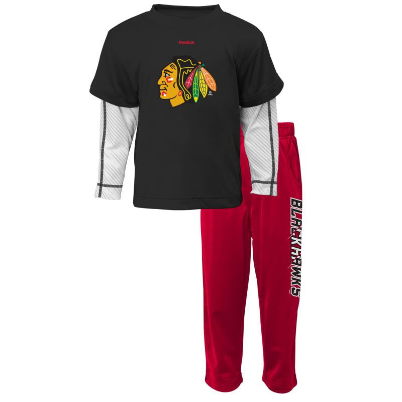 Blackhawks Toddler Outfit