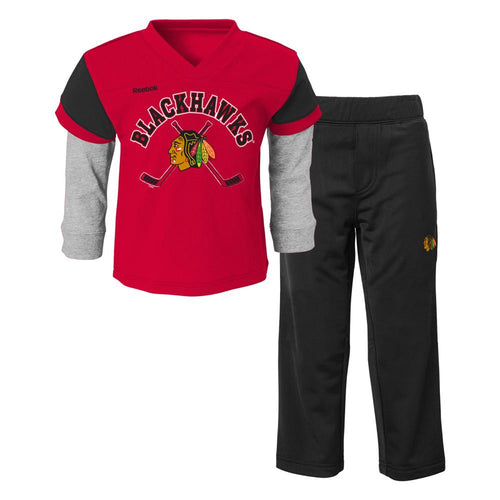 Blackhawks Layered Shirt and Pants Set