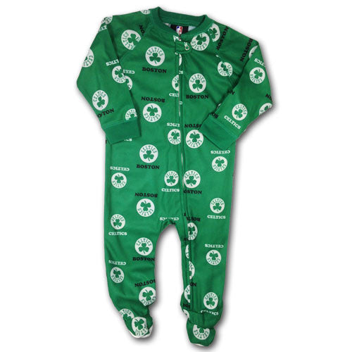 Celtics Infant Shamrock Logo Sleeper