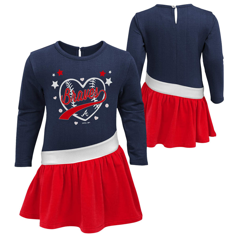 Braves Girl Team Spirit Dress