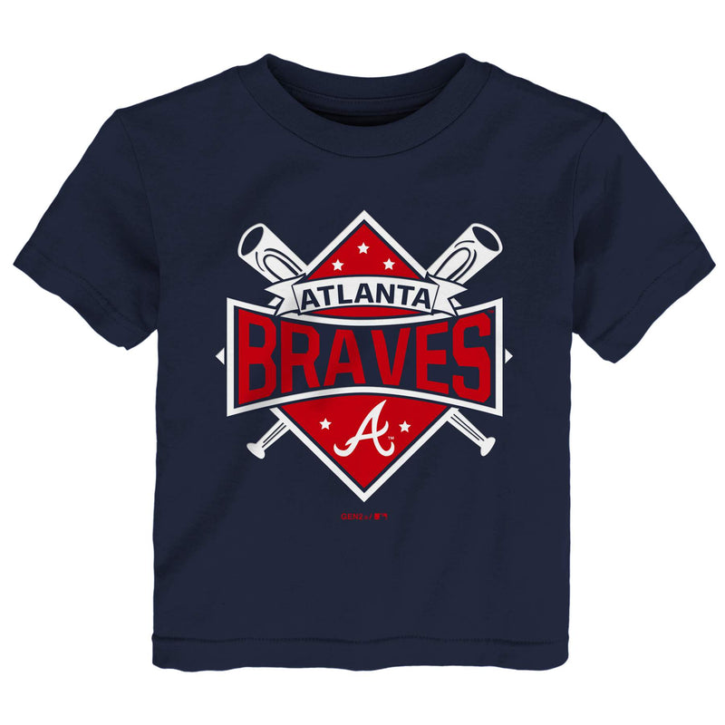 Braves Home Plate Tee
