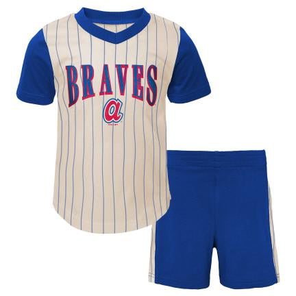 Braves Little Hitter Shirt and Shorts Set
