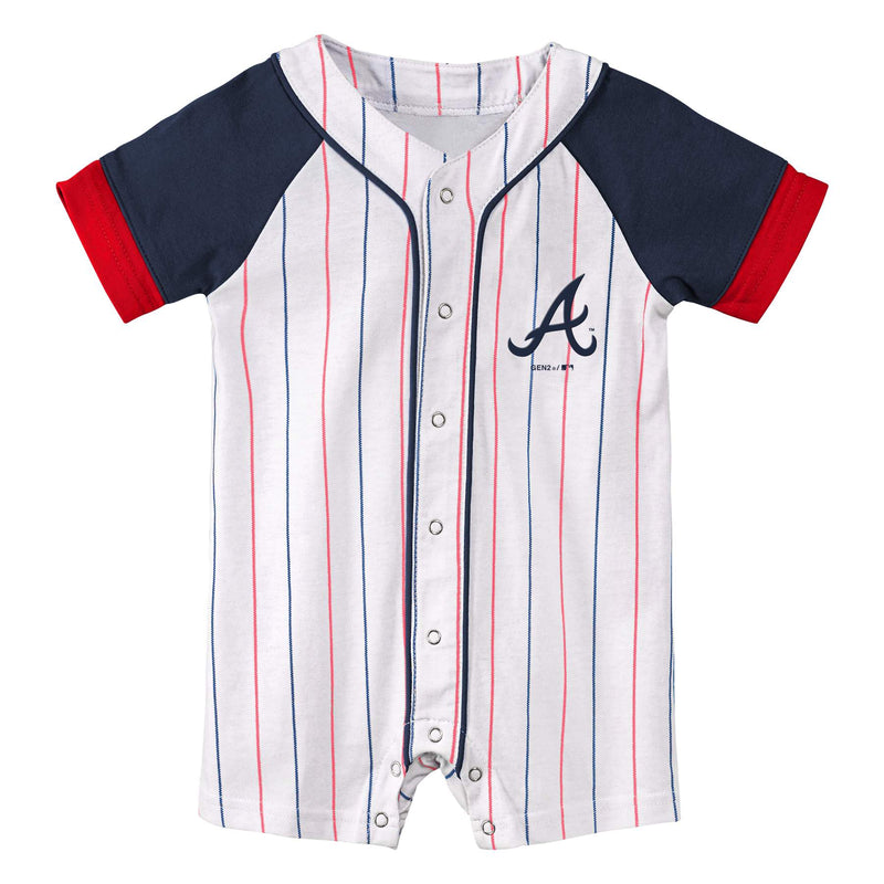 Braves Little Slugger Coverall