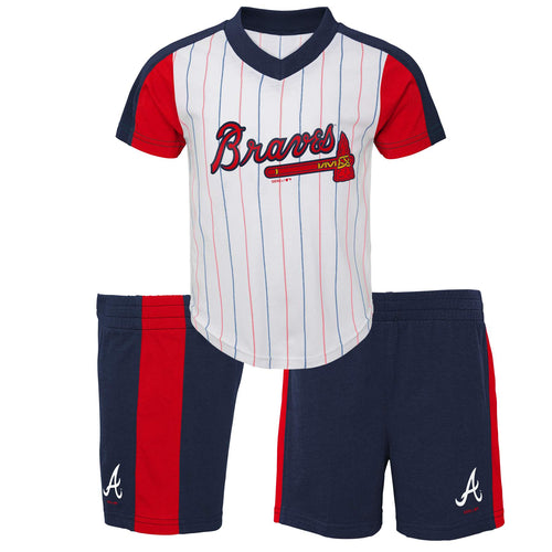 Braves Shirt and Shorts Set