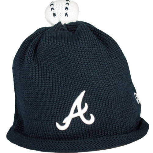 Braves Infant Beanie Cap