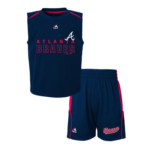 Braves Play Ball! Shirt & Shorts Set
